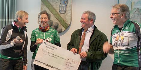 Vor-Tour der Hoffnung erhielt 2.868 Euro in Selters