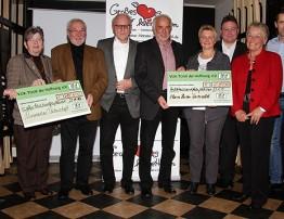 VOR-Tour der Hoffnung übergibt 19.000 Euro an zwei Institutionen aus dem Westerwald