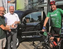 Autohaus Löhr unterstützt seit vielen Jahren die Vortour der Hoffnung