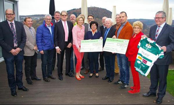 Förderverein Lützelsoon erhält 15 000 Euro aus Vor-Tour der Hoffnung