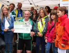 Radeln für den guten Zweck: Vor-Tour der Hoffnung erzielte bereits in Sinzig neues Rekord-Spendenergebnis.
