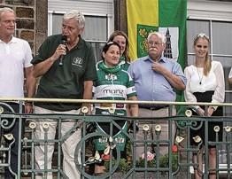 """""""Vor-Tour der Hoffnung"""" nahm in Hatzenport Spenden entgegen."""