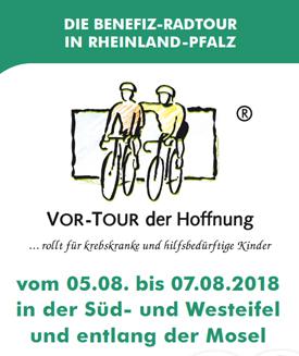 Flyer Vor-Tour 2018 rollt in Süd- und Westeifel