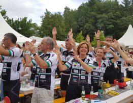 Auch Ministerpräsidentin Malu Dreyer radelt zugunsten der Vor-Tour wieder mit