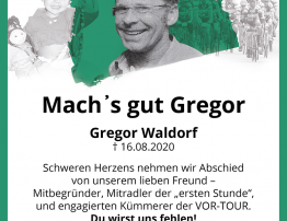 Kondolenz Gregor Waldorf